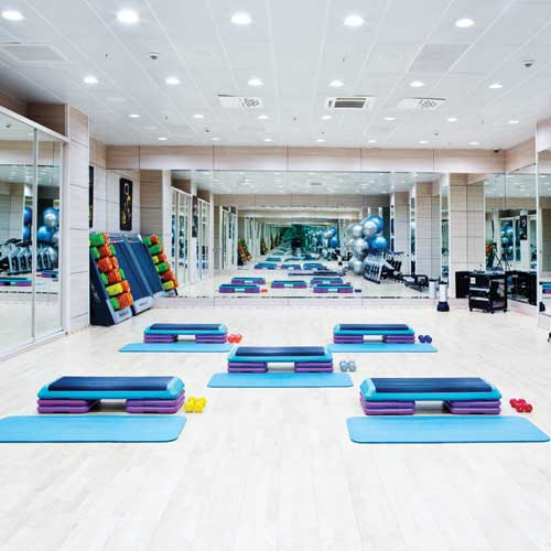 для фитнес центров