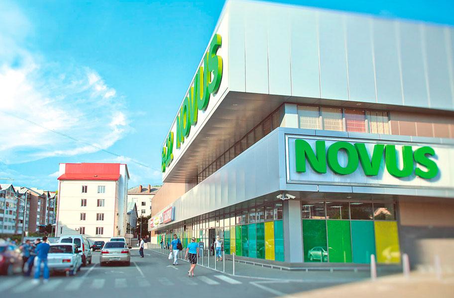 Поломоечные машины Gaomei для сети супермаркетов Novus